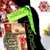 Wonderful Roasted Pistachios with Christmas Card