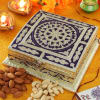 Wooden Box with Dry Fruits