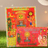 Buy Zari Work Karwa Chauth Puja Thali