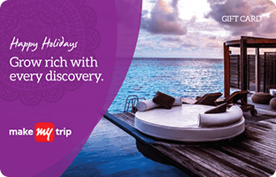 MakeMyTrip Holiday E-Gift Card